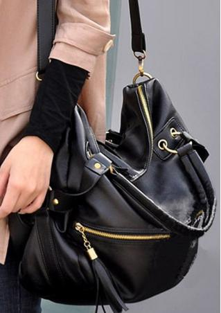 PU Leather Crossbody Bag