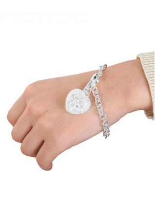 Heart Key Bracelet Bangle with Box