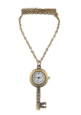 Key Shaped Women Pocket Watch