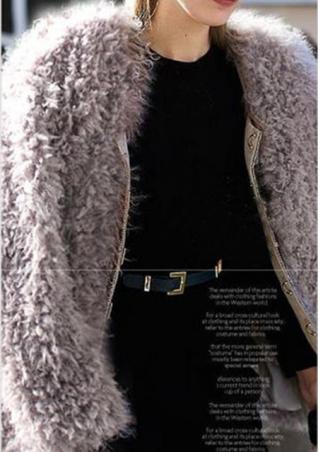 Coat Trench Parka Outwear Coat
