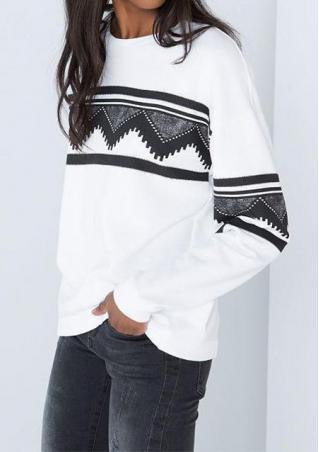 Ethnic Detail Sweatshirt
