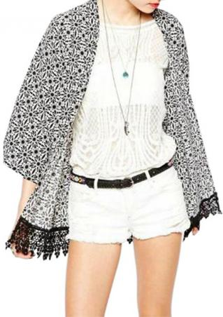 One Size Casual Kimono Cardigan