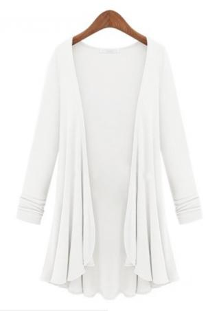 One Size Long Knitted Cardigan