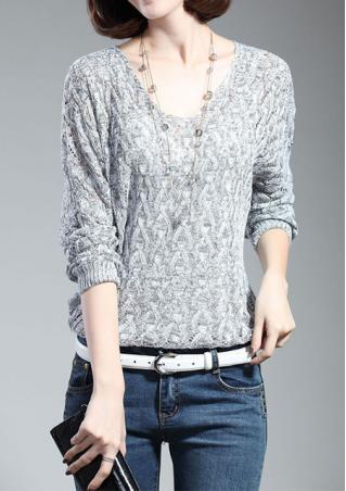 One Size Batwing Sleeve Sweater