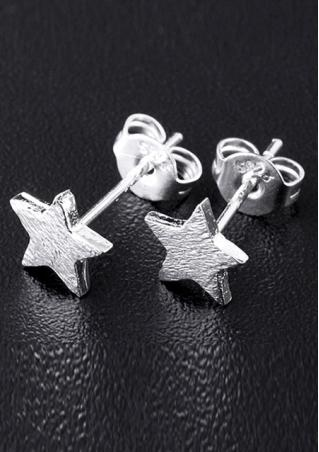 5 Pointed Star Earrings