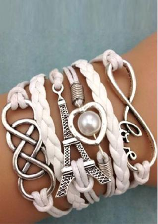 Multilayer Infinity Braided Bracelet