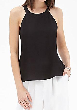Backless Halter Tank