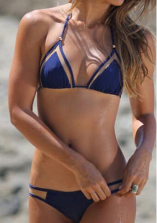 Halter Bikini Set