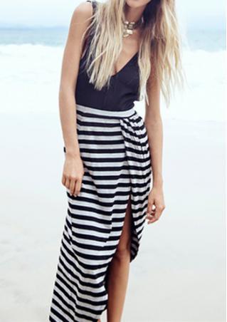 Backless Split Spliced Maxi Dress Backless