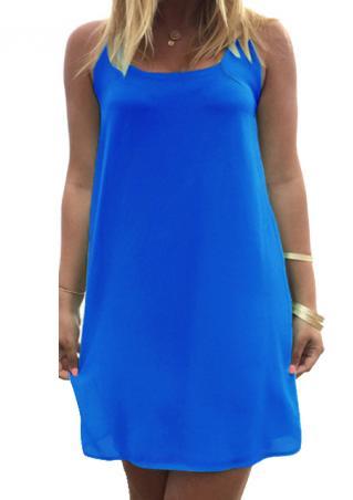 Bowknot Solid Mini Dress