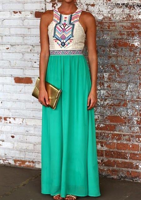 Rochie lungă, elegantă, plisată, fără mâneci, cu imprimeu floral