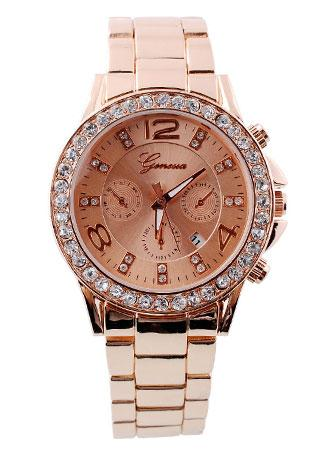 Stainless Rose Gold Watch