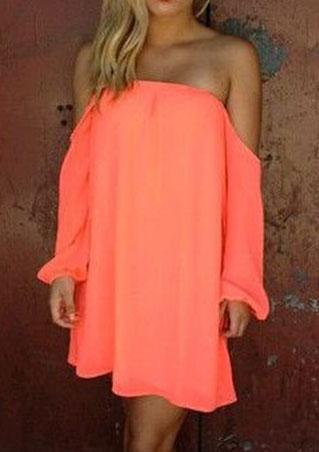 Bowknot Chiffon Dress