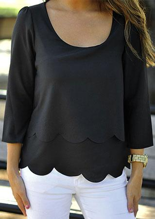 Layer Chiffon Blouse