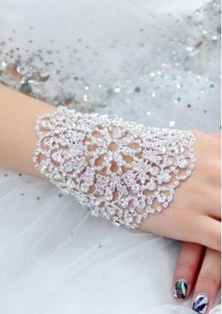 Bridal Rhinestone Crystal Bracelet