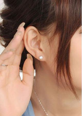 Cat Purple Crystal Earrings