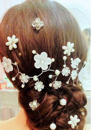 Pearl Flower Headwear