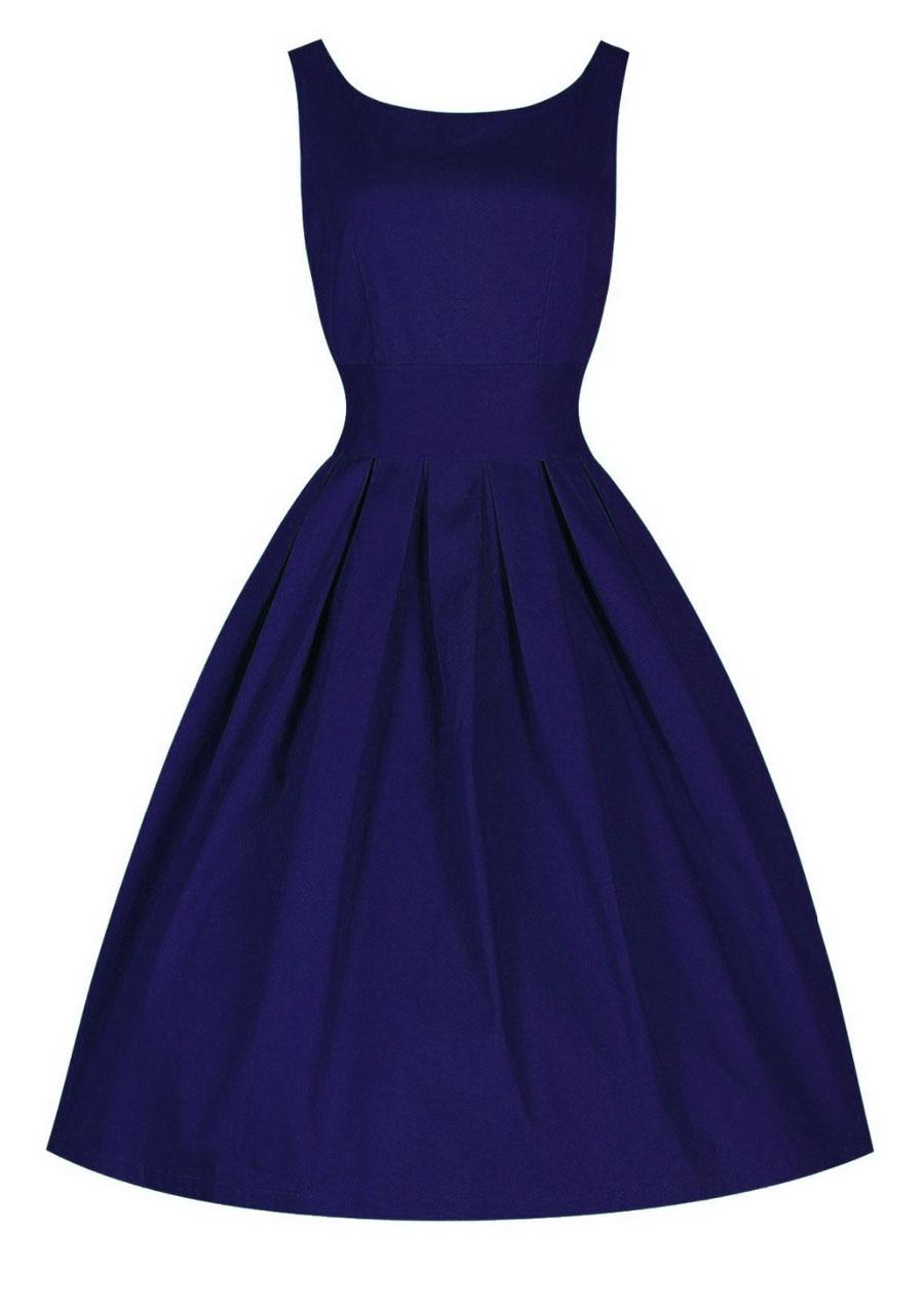 Solid Color Midi Party Dress Fairyseason