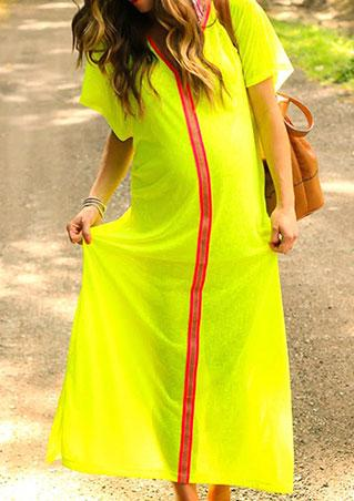 Long Boho Casual Dress