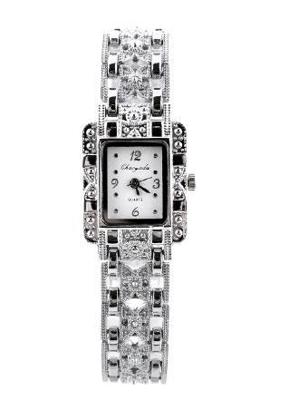 Rhinestone Crystal Analog Wristwatch