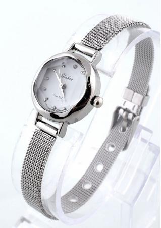 Golden Band Quartz Wristwatch