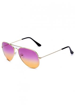 Round Vintage Fashion Sunglasses