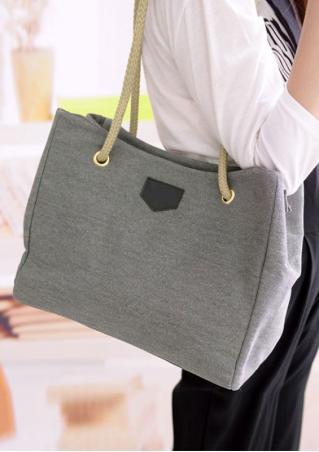 Canvas Zipper Bag Canvas
