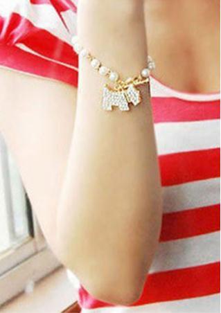 Shiny Pearl Bracelet
