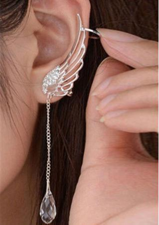 1Pc Rhinestone Ear Clip 1Pc