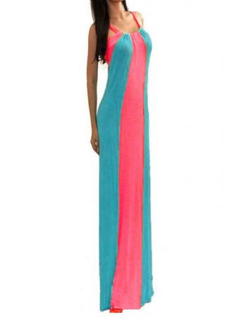 Double Strap Bodycon Maxi Dress Double