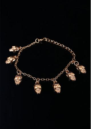 Punk Skull Head Bracelet