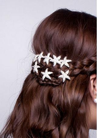 Mini Starfish Hairpin