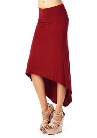 Irregular Long Skirt Irregular