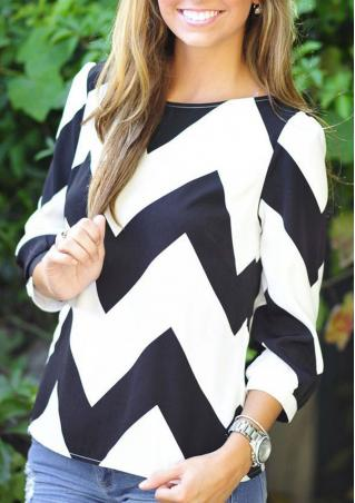 Wave Casual Loose Blouse