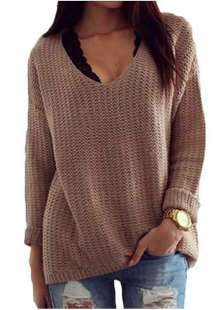 Hollow Out Casual Knitwear Sweater