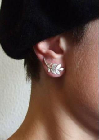 Elegant Leaves Ear Studs