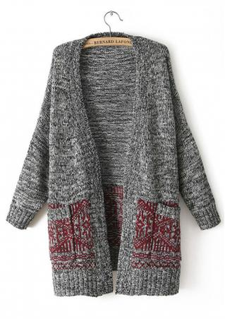 Pocket Knit Coat Cardigan