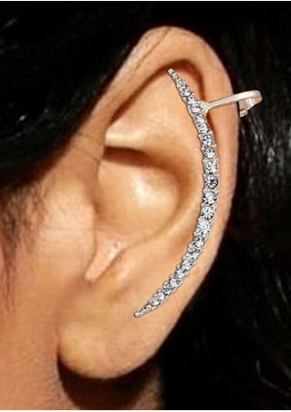 1 Pcs Exquisite Crystal Rhinestones Earrings