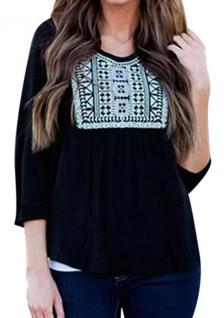 Print Loose Casual T-shirts