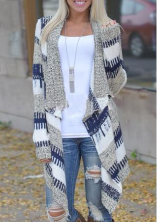 Irregular Casual Loose Knitted Cardigan