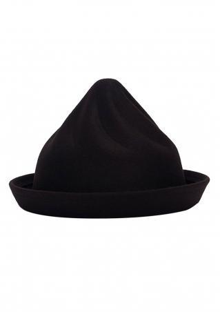 Solid Crimp Spiral felt Hat