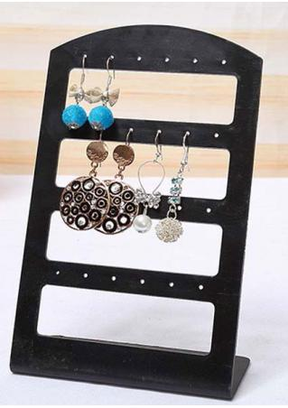 24 Holes Earrings Display Rack Stand Holder
