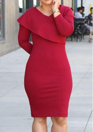 Solid Cloak Bodycon Mini Dress