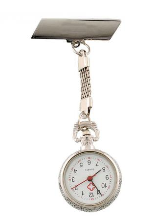 Round Clip Chain Pocket Watch