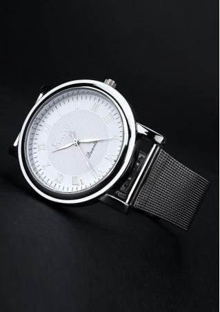 Roman Numeral Round Dial Fashion Wrist Watch