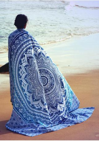 Mandala Pattern Rectangle Beach Blanket Brandless