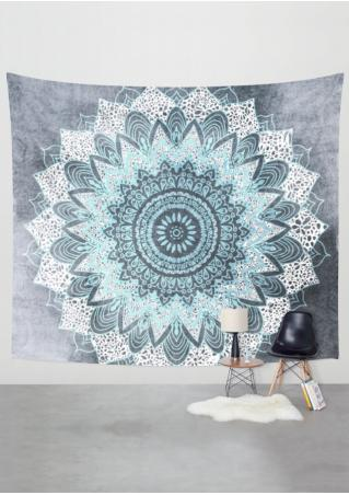 Printed Rectangle Beach Blanket Brandless