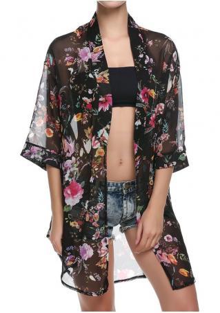 Floral Casual Kimono