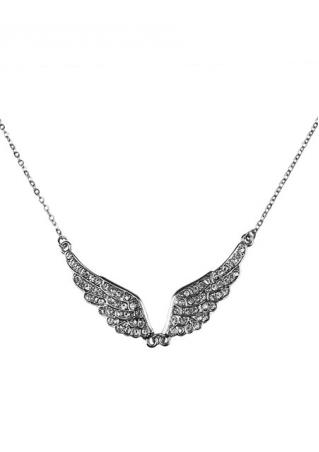 Wings Rhinestone Trendy Pendant Necklace