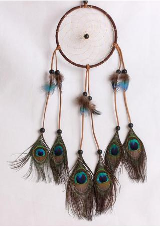 Peacock Dream Catcher Hanging Decoration